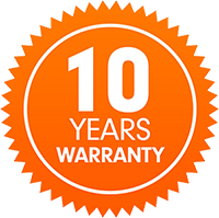 Click to learn more about our 10 Year Warranty