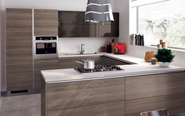 Photo Of A New Modern Designer Kitchen