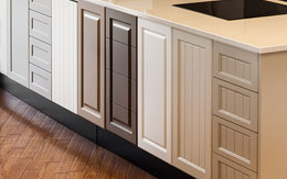 Photo of a selection of kitchen door panels