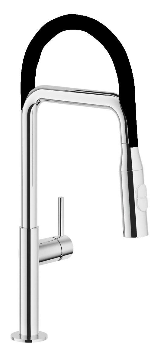 Nobili Acquerelli Flexi Hose Chrome Tap